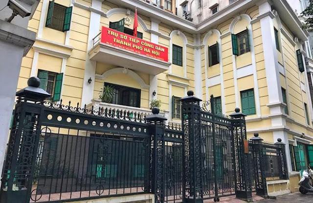 Trụ sở tiếp dân của TP Hà Nội