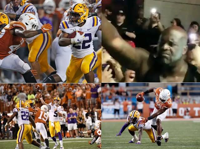 lsu vs texas, LSU, texas vs lsu, Joe Burrow, Matthew McConaughey, ut vs lsu, texas lsu, Sam Ehlinger, longhorn football, lsu texas, Sports News,