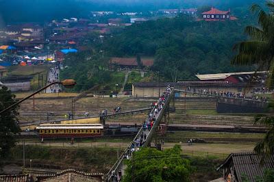 Paranapiacaba - Vista da vila ferroviária