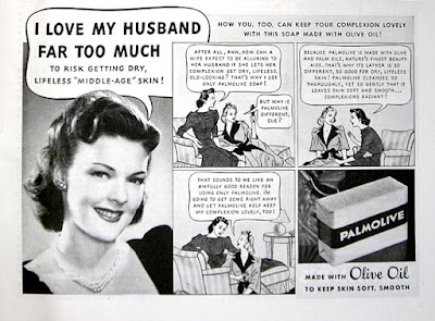 Palmolive -- I love my husband far too much