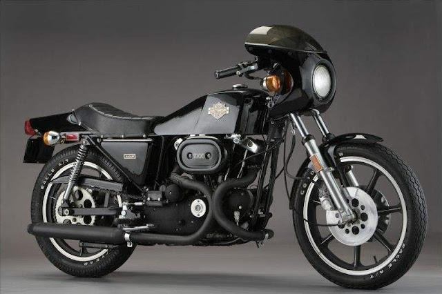 Harley-Davidson XLCR 1970s American classic motorbike