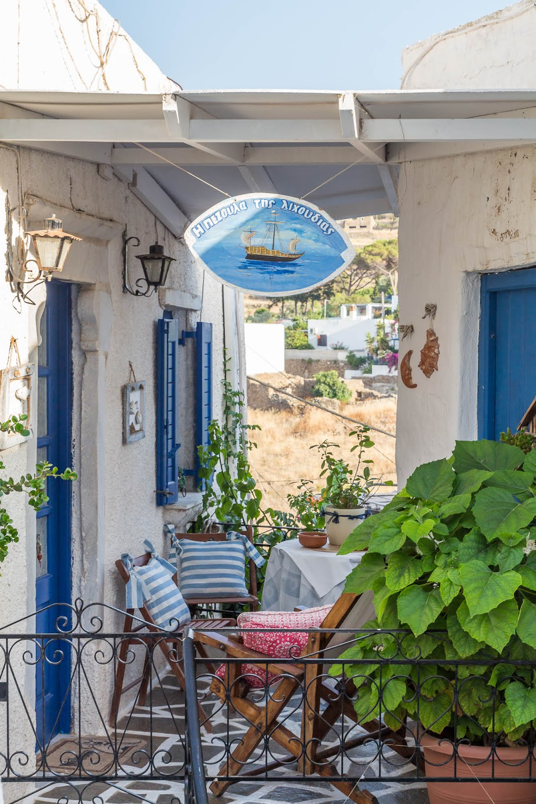 Lefkes Paros Cyclades Grèce