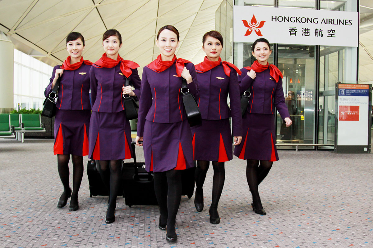 Image result for hongkong airlines attendant