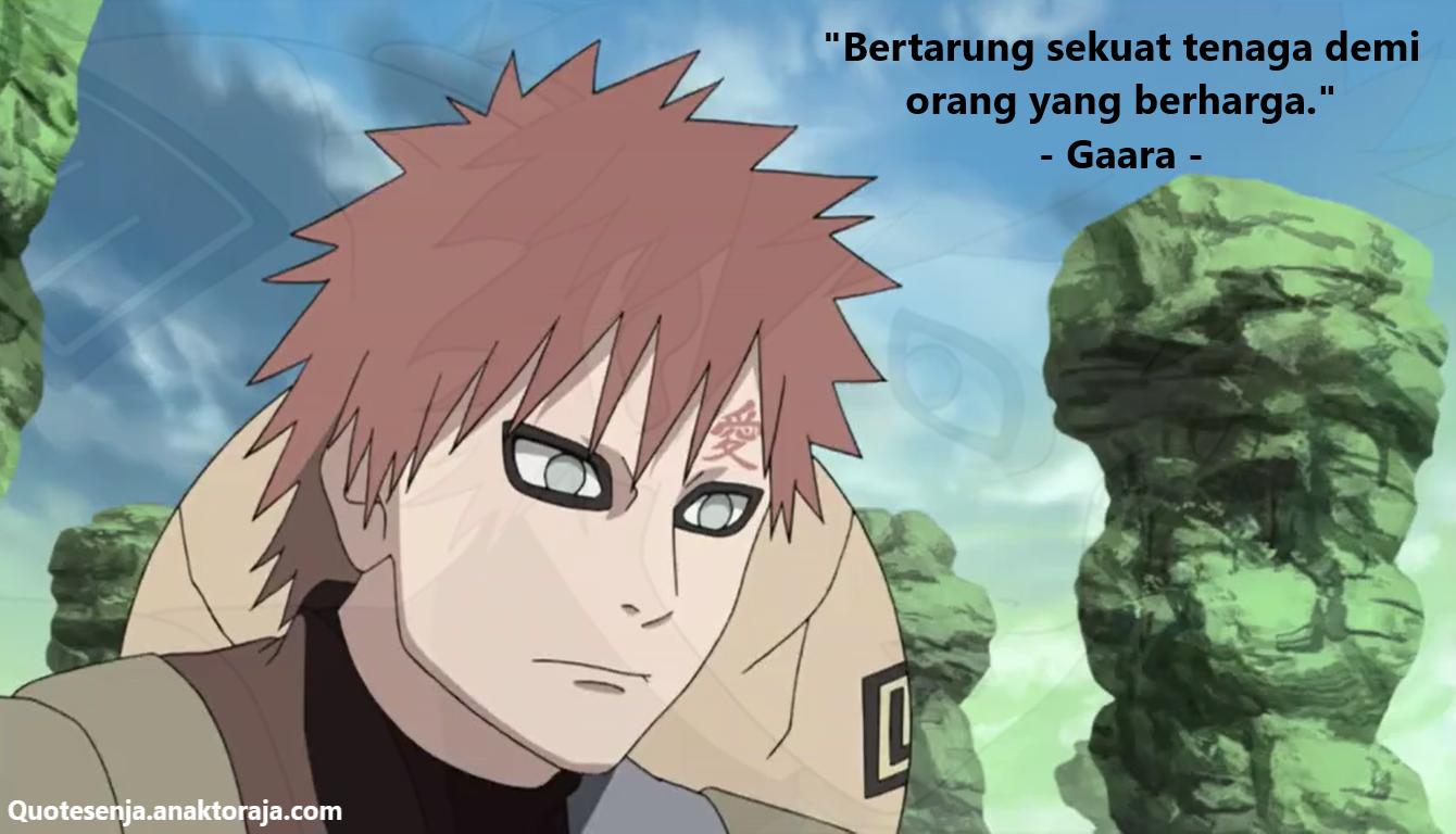 Gambar kata-kata bijak Naruto tentang cinta