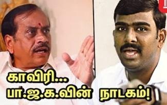 Tamilan Prasanna Interview | Cauvery Issue | BJP | NT20