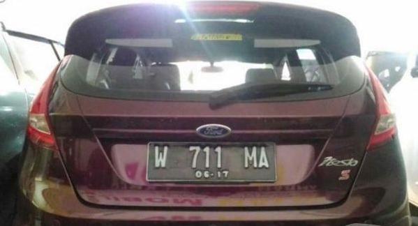 Ford Fiesta 1.6 Sport tahun 2012 bekas