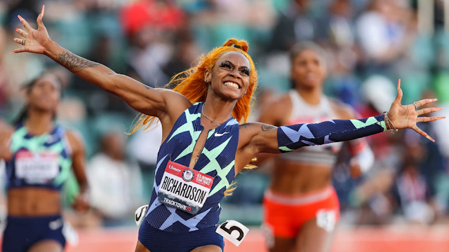 U.S. Track And Field Star Sha'Carri Richardson Suspended One Month For Positive Marijuana Test