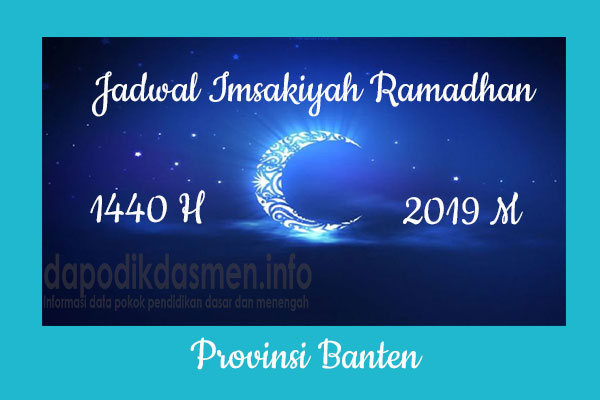 Jadwal Imsakiyah Ramadhan Provinsi Banten