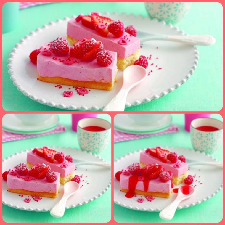 Frozen Berry Slice: Easy Dessert Ideas
