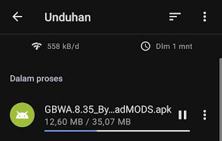 downloading gbwhatsapp apk
