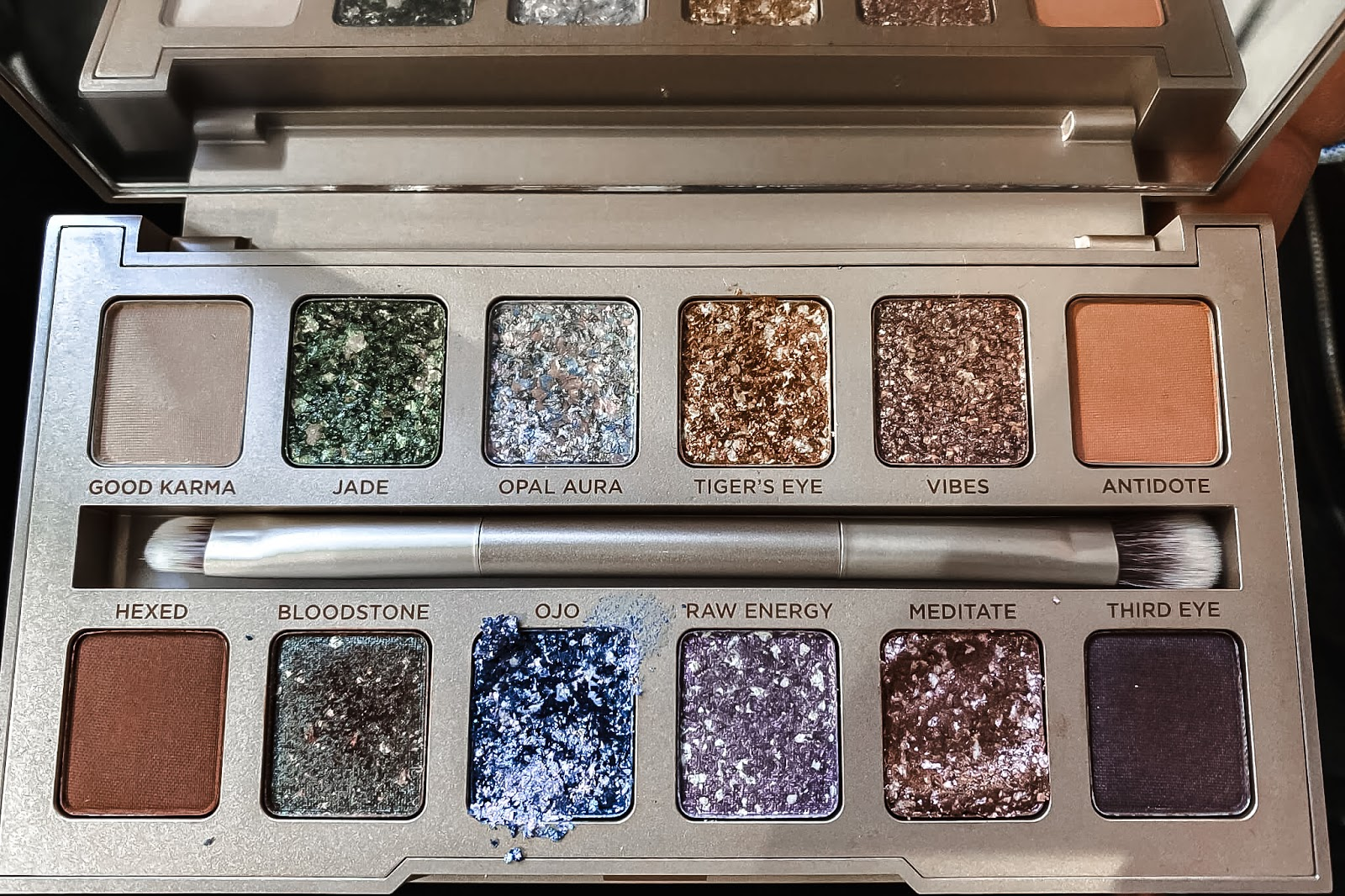 Urban Decay Stoned Palette test