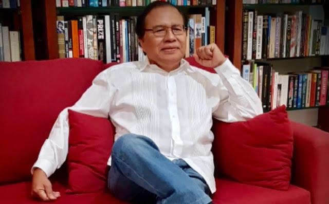 Sindir Jokowi, Rizal: Penghinaan? Gak Ada Apa-apanya Dibanding Era Gus Dur