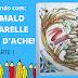 COLORINDO COM PRISMALO AQUARELLE CARAN D'ACHE #1(COLORING WITH PRISMALO AQUARELLE CARAN D'ACHE # 1)