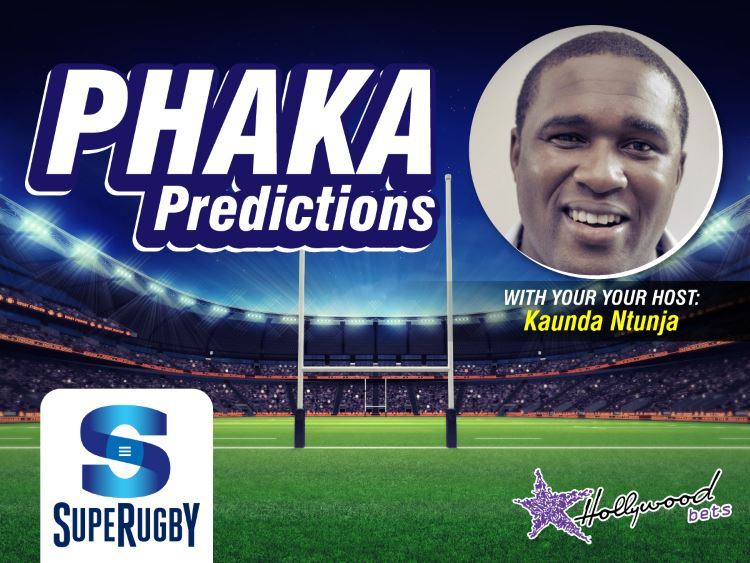 Phaka Predictions with Kaunda Ntunja - Super Rugby - Hollywoodbets