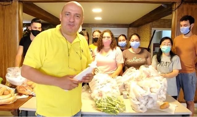 Pastor que escapou da explosão em Beirute ajuda a pagar aluguel de desabrigados