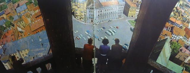1970-е годы. Рига. Панорама площади 17 Июня (Домской площади)