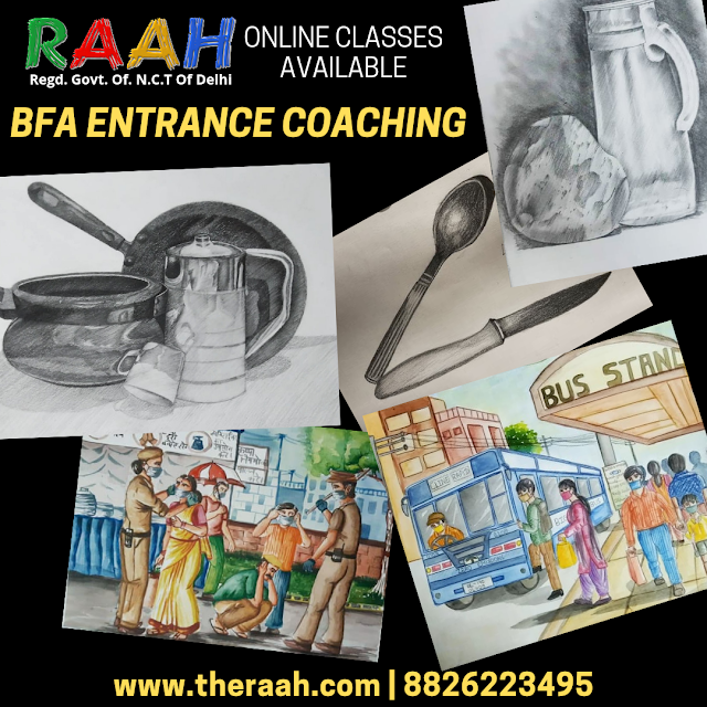 BFA Coaching Courses  Classes Available Basic | Medium | Professional Courses with Diploma Certificate BFA Coaching Classes Online and Offline  Join Us : 88226223495 | info@gmail.com