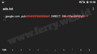 File Ads.txt