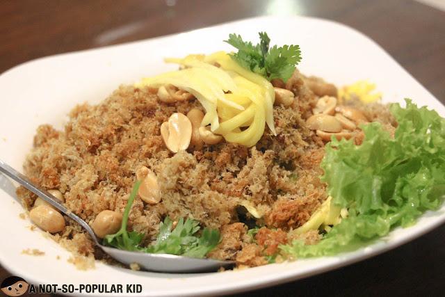 Crispy Catfish w/ Mango Salad (Yam pladuk foo)