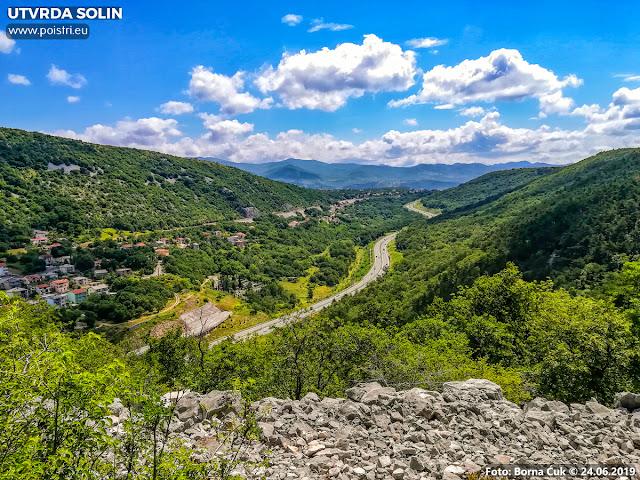 Pretpovijesna gradina (utvrda) Solin poviše Kostrene 24.06.2019