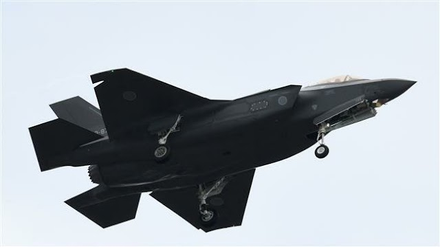 Japanese Air Self-Defense Force says F-35 fighter jet disappears over Pacific