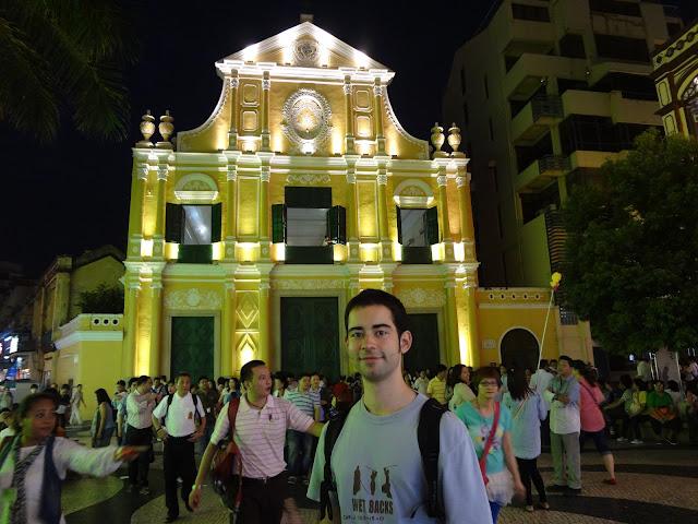 Iglesia de santo Domingo en Macao