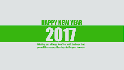 Happy New Year 2017 Greeting Card Messages