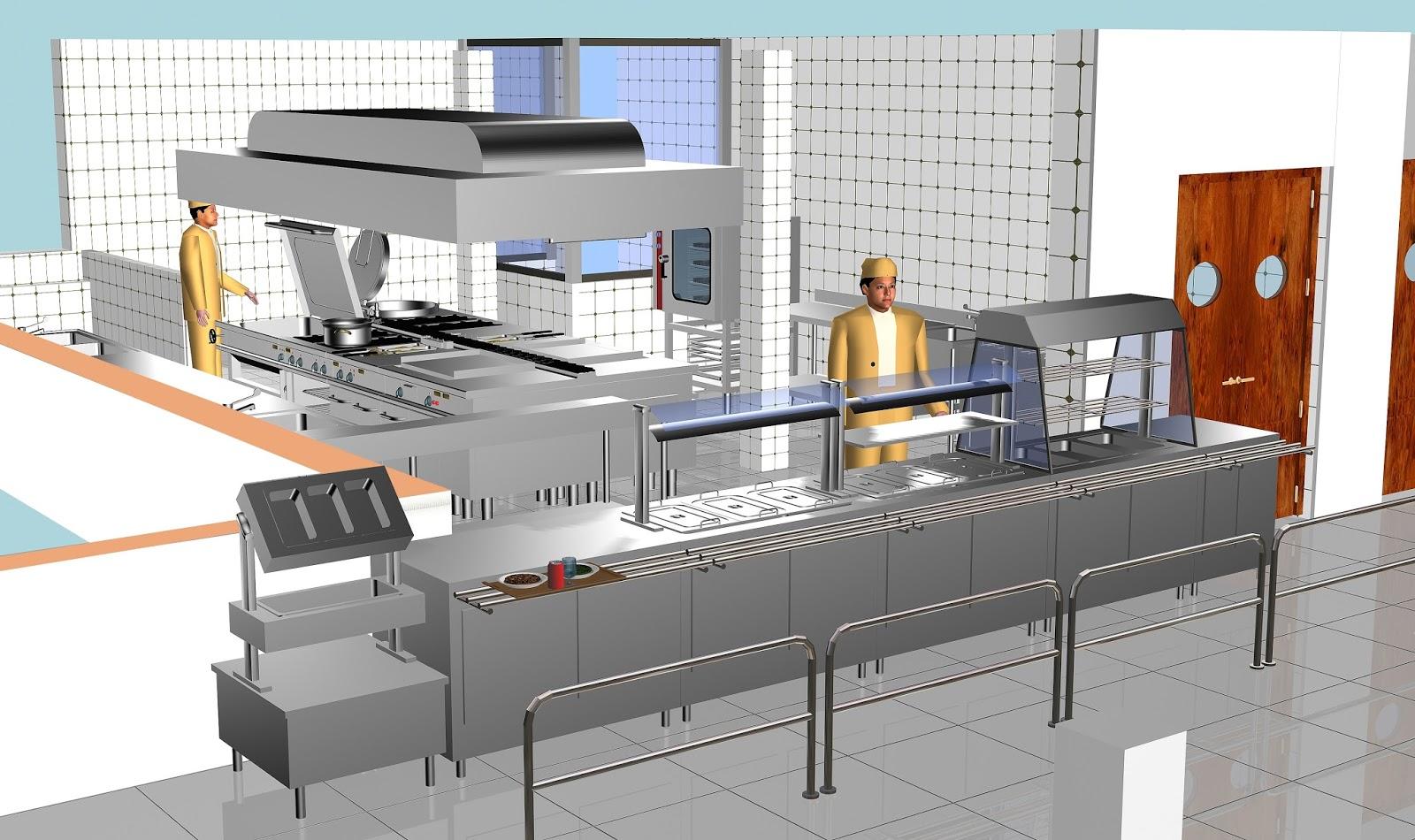 Global cocinas t cnicas nueva cocina para el colegio alegra for Instalacion cocina industrial