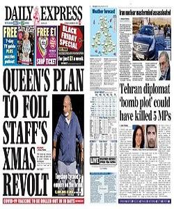 Daily Express Magazine 28 November 2020 | Daily Express News | Free PDF Download