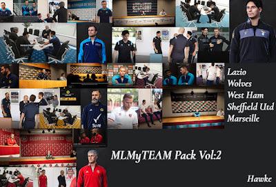 PES 2021 MLMyTeam Teams Pack Vol 2 & 3 by Hawke