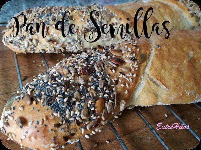 como hacer pan de semillas en casa