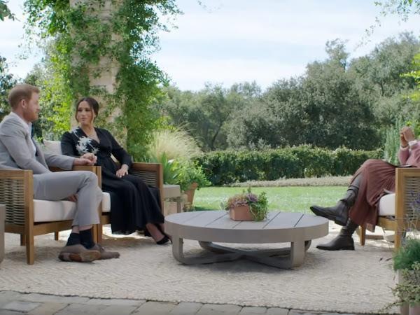 Książę Harry i James Corden + zapowiedzi wywiadu u Oprah Winfrey.