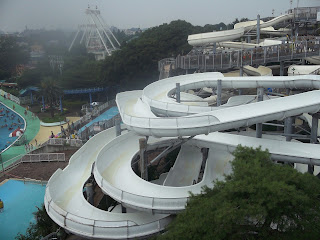 Toshimaen water slides