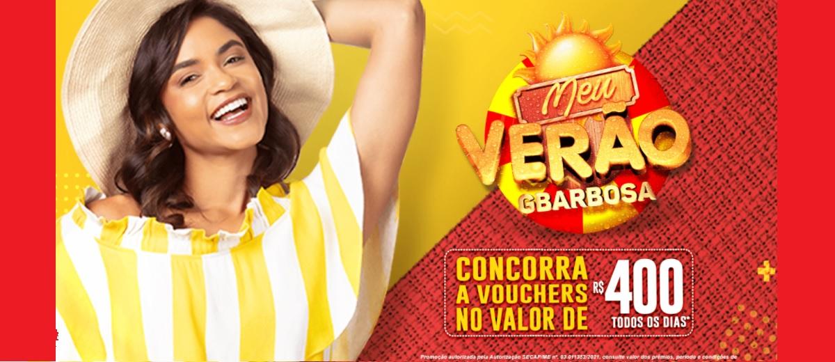 Participar Promoção Verão GBarbosa 2021 Prêmio 400 Reais Todo Dia - Meu Verão GBarbosa