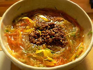 カラフル冷麺