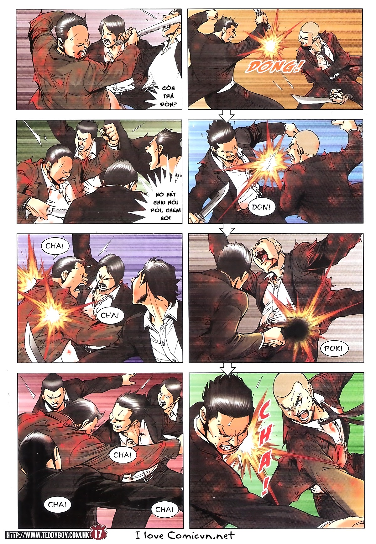 Người Trong Giang Hồ chapter 1805: thiên đao vạn trảm trang 16