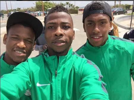 Image result for super eagles iwobi and iheanacho