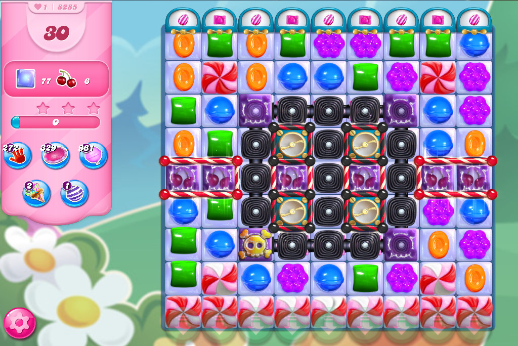 Candy Crush Saga level 8285