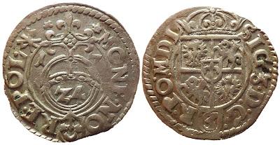 Półtorak z hakami z 1617 roku posiadający wszystkie cechy tego z 1618