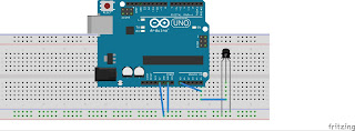 How to interface temperature sensor, lm35 with arduino