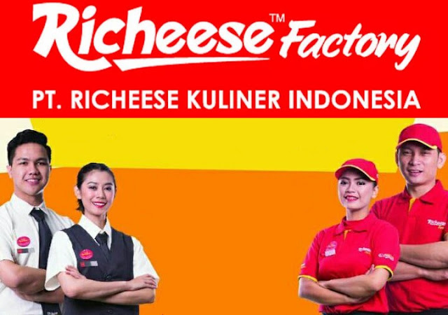Lowongan Kerja SMA SMK D3 S1 PT. Richeese Kuliner Indonesia, Jobs: Outlet Crew, Finance Supervisor, Marcomm Staff, Management Trainee, Walk in Interview, Etc.
