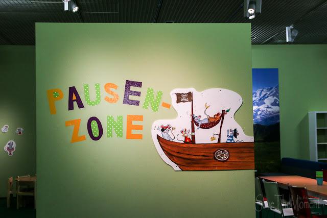 Mitmach-Ausstellung Total Genial Pausenzone