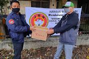 JBN Salurkan Paket Lebaran Untuk Wartawan dari Pengusaha Kuliner