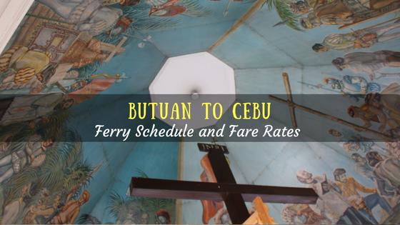 Butuan to Cebu ferry schedule