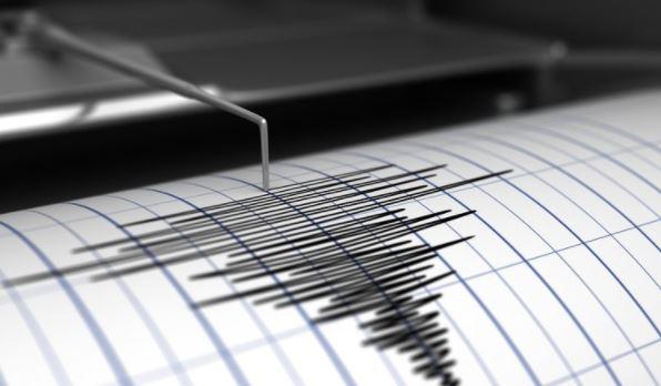 رسم زلزال بسيط