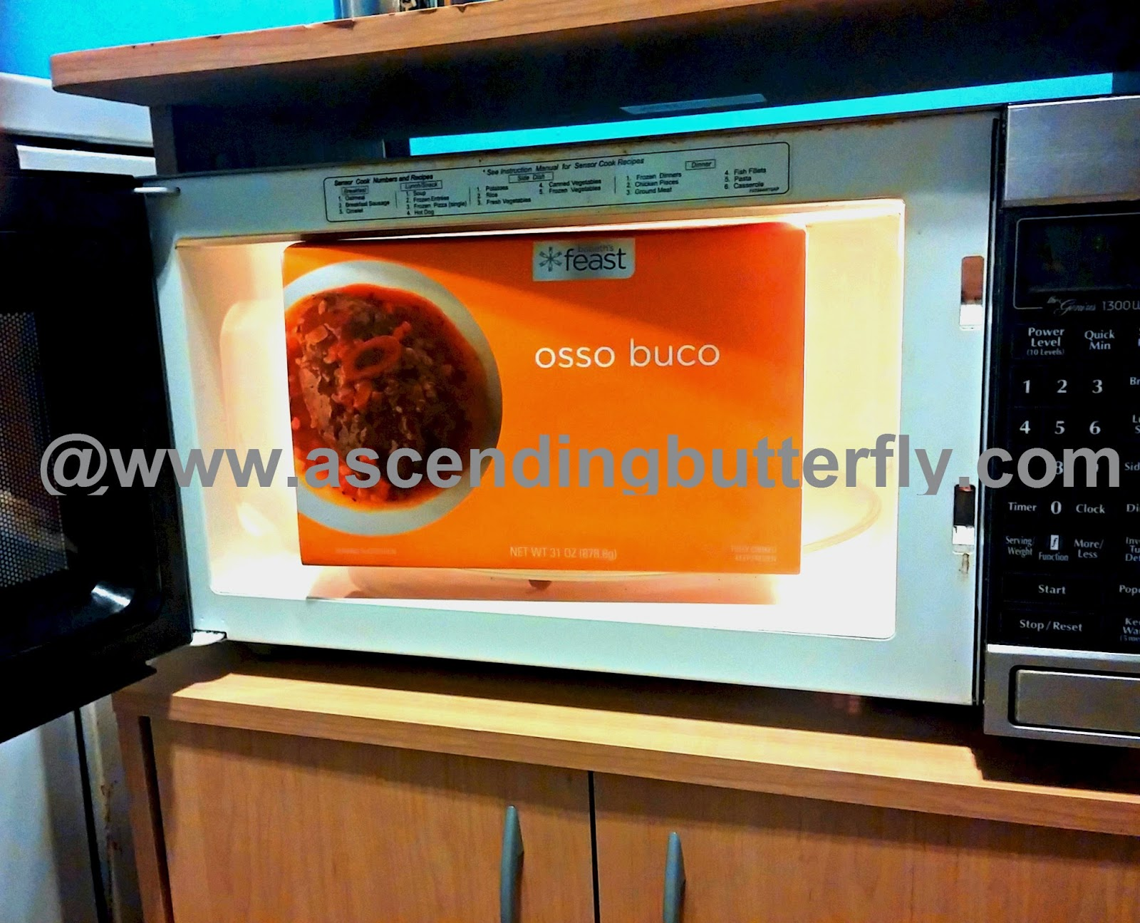 Babeth's Feast Osso Buco Premium Frozen Meal in Microwave