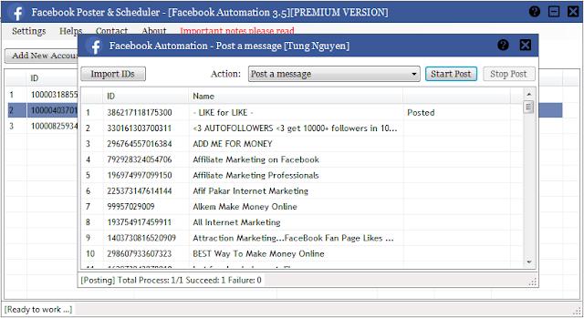 حصرياً | النسخة المدفوعة من برنامج الناشر Facebook Auto Poster1.0 مجاناً  Pad_screenshot