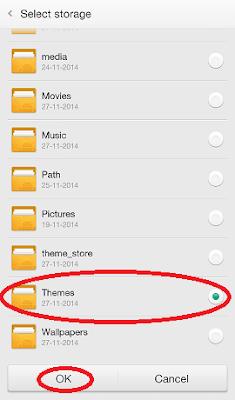 Folder Themes Oppo