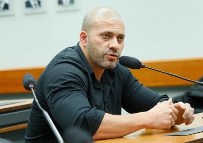 URGENTE: Moraes determina que Daniel Silveira vá para prisão domiciliar com uso de tornozeleira