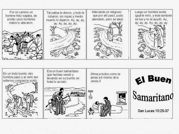 El Renuevo De Jehova: El Buen Samaritano - Imagenes para colorear ...